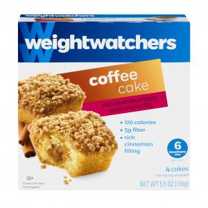 Weight Watchers Coffee Cake Snack Cakes