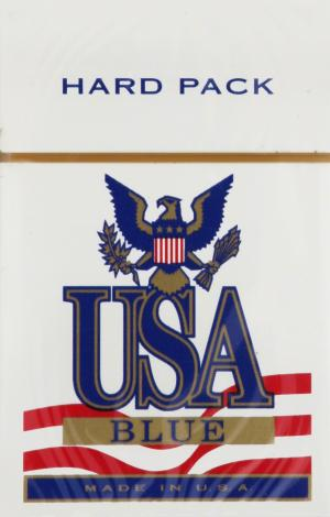 USA Blue Box Cigarettes