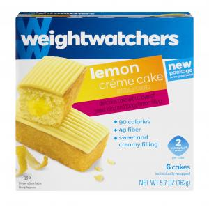 Weight Watchers Lemon Snack Cakes