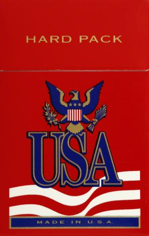 USA Red King Box Cigarettes