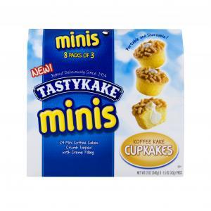 Tastykake Minis Koffee Kake Cupkakes