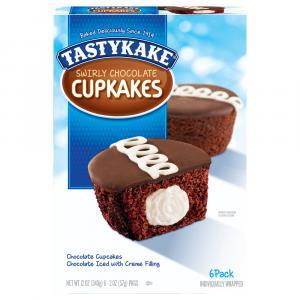 TastyKake Swirly Chocolate Cupkakes