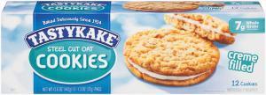 Tastykake Steel Cut Oat Cookies