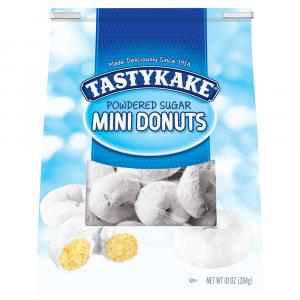 TastyKake Powdered Sugar Mini Donuts