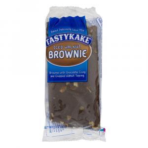 Tastykake Iced Walnut Brownie Single Serve