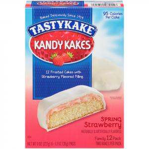 Tastykake Strawberry Kandy Kakes