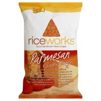 Riceworks Parmesan & Sundried Tomato Brown Rice Crisps