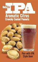 Nuts For Drinks IPA Aromatic Citrus Peanuts Bag