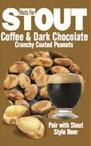 Nuts For Drinks Stout Coffee & Dark Chocolate Peanuts Bag