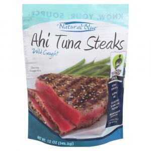 Natural Blue Ahi Tuna Steaks