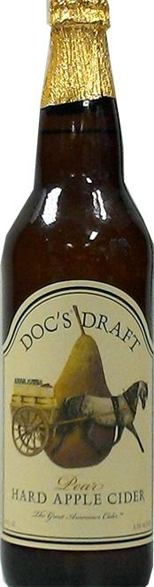 Doc's Draft Pear Hard Apple Cider