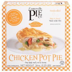 Centerville Pie Co. Chicken Pot Pie with Peas & Carrots