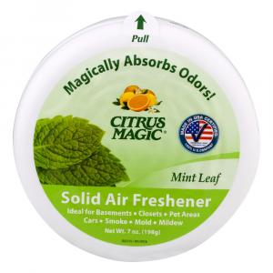 Citrus Magic Mint Leaf Solid Air Freshener