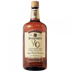 Seagram's Canadian VO Whiskey