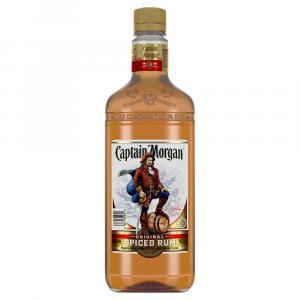 Captain Morgan Spiced Rum Plastic