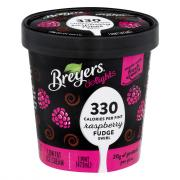 Breyer's Delights Raspberry Fudge Swirl Ice Cream