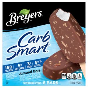 Breyer's Carb Smart Almond Bars