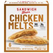 Sandwich Bros. Chicken Melts Pita Snack Sandwiches