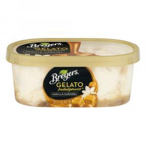Breyers Gelato Indulgences Vanilla Caramel