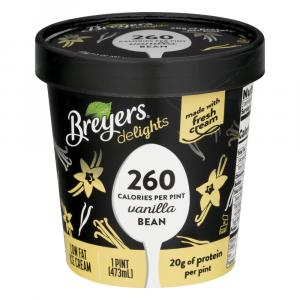 Breyer's Delights Vanilla Bean Ice Cream