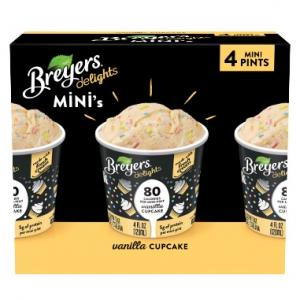 Breyer's Delights Mini Vanilla Cupcake Low Fat Ice Cream