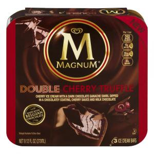 Magnum Double Cherry Truffle Ice Cream Bars