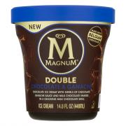 Magnum Tub Double Chocolate & Ganache Ice Cream
