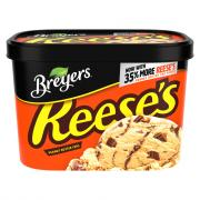 Breyers Ice Cream Parlor Reese's Peanut Butter Cup Ice Cream