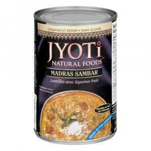 Jyoti Madras Sambar Lentils and Vegetables