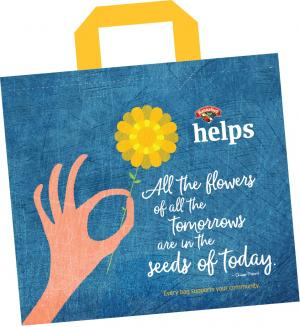 Hannaford Helps Reusable Bag