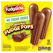 Popsicle Fudgesicle No Sugar Added