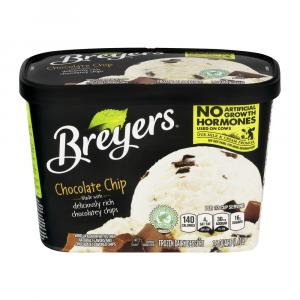 Breyers Chocolate Chip Ice Cream