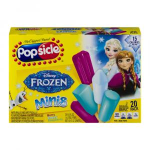 Popsicle Mighty Minis Slow Melt Pops