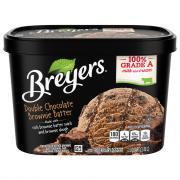 Breyers Double Chocolate Brownie Batter