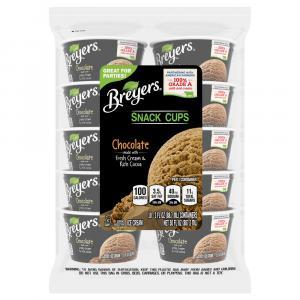 Breyers Cups Chocolate Ice Cream