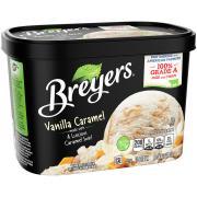 Breyers Vanilla Caramel