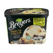 Breyers All Natural Chocolate Chip Cookie Dough Ice Cream