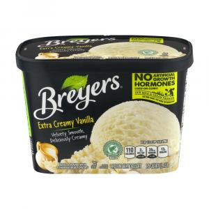 Breyers All Natural Extra Creamy Vanilla Ice Cream