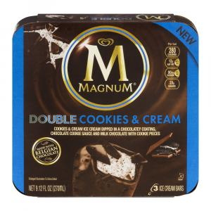 Magnum Double Cookies and Cream Bars