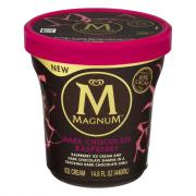 Magnum Dark Chocolate Raspberry Tub