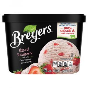 Breyers Strawberry Ice Cream