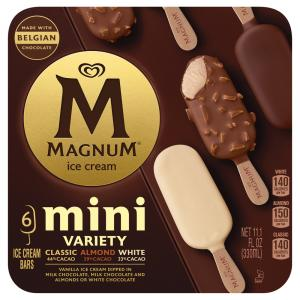 Magnum Mini Classic Almond and White