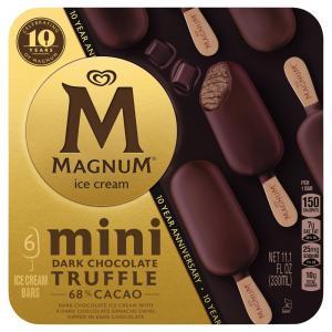 Magnum Mini Dark Chocolate Truffle Ice Cream Bars