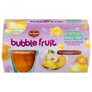 Del Monte Bubble Fruit Tropical Mixed Fruit