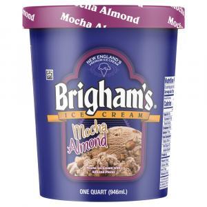 Brigham's Mocha Almond Ice Cream
