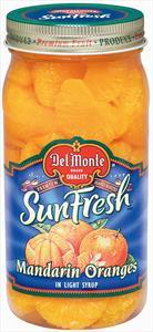 Del Monte Mandarin Oranges In Lite Syrup