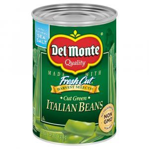 Del Monte Italian Cut Green Beans