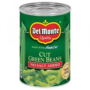 Del Monte No Salt Added Cut Green Beans