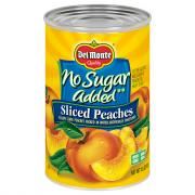 Del Monte Sliced Peaches No Sugar Added