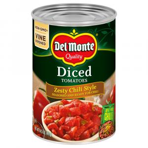 Del Monte Diced Tomatoes Zesty Chili Style